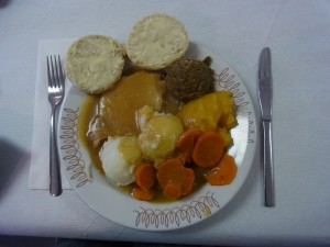 RCL Roast Pork supper