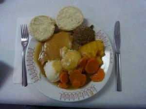 RCL Roast Pork supper